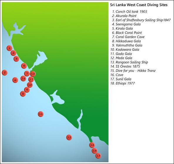 West-Coast-Dive-Map